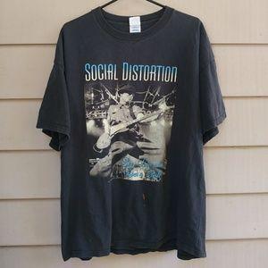 2004 Social Distortion Concert T Shirt 2XL